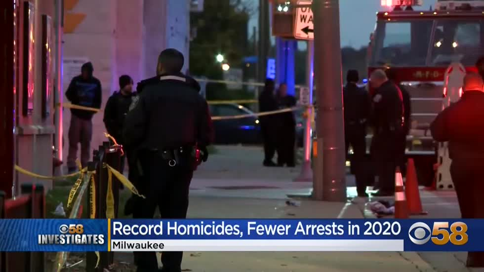 Experts say pandemic, protests lead to spike in murders in Milwaukee...